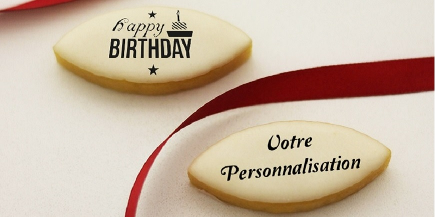Calissons personnalisés Happy birthday